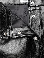 Calvin Klein Jeans - HIGH SHINE MINI SKIRT - kort skjørt - ck black - 2
