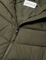 Calvin Klein Jeans - SHORT DOWN FITTED PUFFER - fôrede jakker - deep depths - 4