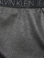 Calvin Klein Jeans - COATED MILANO SKIRT - midi skjørt - ck black - 2
