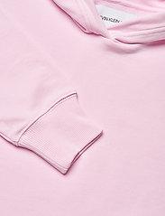 Calvin Klein Jeans - MIRRORED LOGO HOODIE - gensere og hettegensere - pearly pink / bright white - 2
