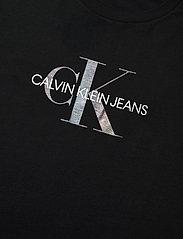 Calvin Klein Jeans - REFLECTIVE MONOGRAM TEE - t-shirts - ck black - 2