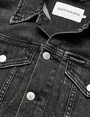 Calvin Klein Jeans - CROPPED DENIM JACKET - jeansjakker - denim grey - 2