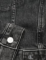 Calvin Klein Jeans - CROPPED DENIM JACKET - jeansjakker - denim grey - 3