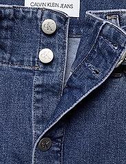 Calvin Klein Jeans - HIGH RISE MIDI SKIRT - denimskjørt - denim dark - 2