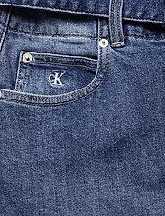 Calvin Klein Jeans - HIGH RISE MIDI SKIRT - denimskjørt - denim dark - 3