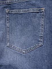 Calvin Klein Jeans - HIGH RISE MIDI SKIRT - denimskjørt - denim dark - 5