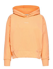 MICRO BRANDING HOODIE - CRUSHED ORANGE