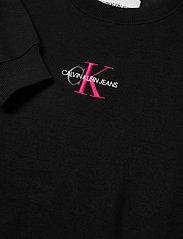 Calvin Klein Jeans - MONOGRAM LOGO CREW NECK - sweatshirts - ck black/party pink - 2