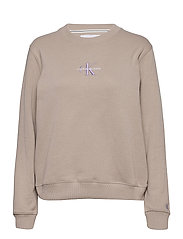 MONOGRAM LOGO CREW NECK - STRING