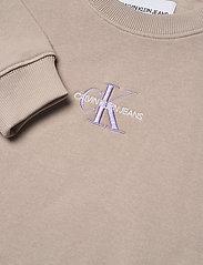 Calvin Klein Jeans - MONOGRAM LOGO CREW NECK - sweatshirts - string - 2