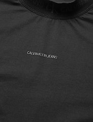 Calvin Klein Jeans - LOGO INTARSIA TEE - t-shirts - ck black - 2