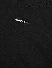 Calvin Klein Jeans - MICRO BRANDING CROP RIB TOP - crop tops - ck black - 2