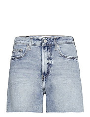 MOM SHORT - DENIM LIGHT