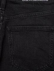 Calvin Klein Jeans - HIGH RISE MIDI SKIRT - denimskjørt - denim black - 4
