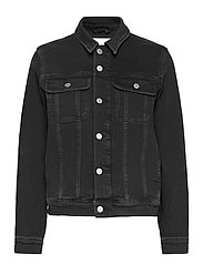 REGULAR 90S DENIM JACKET - DENIM BLACK