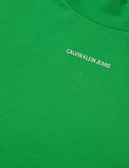 Calvin Klein Jeans - MICRO BRANDING STRETCH MOCK NECK - t-shirts - acid green - 2