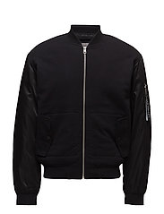 HILLOS 1 REGULAR BOMBER LS - CK BLACK