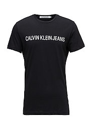 CORE INSTITUTIONAL LOGO SLIM TEE - CK BLACK
