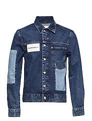 Patched 1 pocket tru - DELTA BLUE