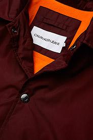 Calvin Klein Jeans - SL INSTITUTIONAL COACH JACKET - leichte jacken - tawny port - 4
