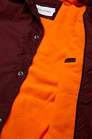 Calvin Klein Jeans - SL INSTITUTIONAL COACH JACKET - leichte jacken - tawny port - 6