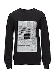 PIXELATED GRAPHIC RE - CK BLACK
