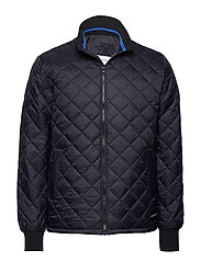 QUILTED JACKET - CK BLACK