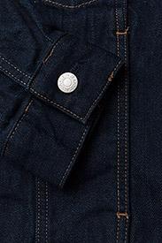Calvin Klein Jeans - Classic Trucker Warh - farkkutakit - rinse white print - 3