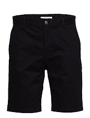 CKJ 026 SLIM CHINO SHORT - CK BLACK