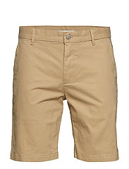CKJ 026 SLIM CHINO SHORT - TRAVERTINE