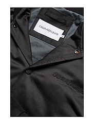 Calvin Klein Jeans - MIX MEDIA BOMBER - bomberjacks - ck black - 4