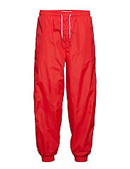 NYLON JOGGING PANTS - RACING RED