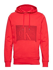 OFF PLACED MONOGRAM, - RACING RED