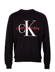 WASHED REG MONOGRAM - CK BLACK