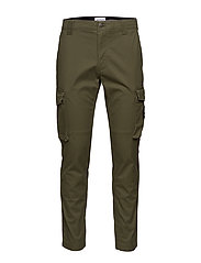 SKINNY WASHED CARGO PANT - DEEP DEPTHS