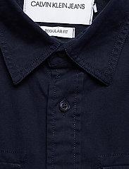 Calvin Klein Jeans - GMD TWILL UTILITY REG SHIRT - basic overhemden - night sky - 2