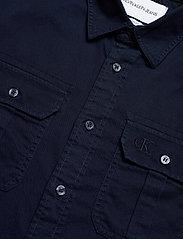 Calvin Klein Jeans - GMD TWILL UTILITY REG SHIRT - basic overhemden - night sky - 3