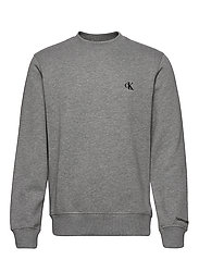 CK ESSENTIAL REG CN - MID GREY HEATHER