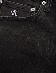 Calvin Klein Jeans - SLIM SHORT - farkkushortsit - da119 black with embro - 2