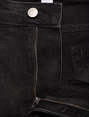 Calvin Klein Jeans - SLIM SHORT - denim shorts - da119 black with embro - 3
