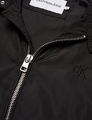 Calvin Klein Jeans - NYLON RACER WITH DETAILS - light jackets - ck black - 4