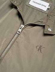 Calvin Klein Jeans - NYLON RACER WITH DETAILS - light jackets - new basil - 3
