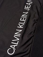 Calvin Klein Jeans - HOODED BLOCKING NYLON JACKET - light jackets - ck black/white - 7