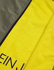 Calvin Klein Jeans - JERSEY LINED HOODED - light jackets - new basil/solar yellow - 5
