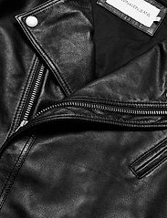 Calvin Klein Jeans - PERFECTO JACKET - nahkatakit - ck black - 2