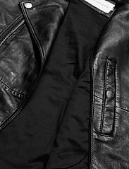 Calvin Klein Jeans - PERFECTO JACKET - nahkatakit - ck black - 4