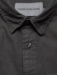 Calvin Klein Jeans - RIBSTOP POPLIN SS SH - basic overhemden - ck black - 2