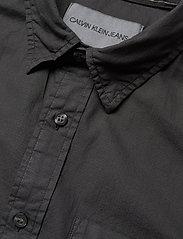 Calvin Klein Jeans - RIBSTOP POPLIN SS SH - basic overhemden - ck black - 3