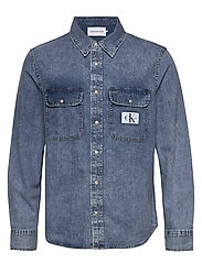 ARCHIVE REGULAR SHIRT - AB078 ICN MID BLUE