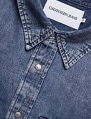Calvin Klein Jeans - ARCHIVE REGULAR SHIRT - basic overhemden - ab078 icn mid blue - 2
